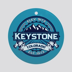 Keystone Ice Ornament (Round)