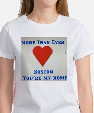 Support our wonderful town, Boston Women's T-Shirt