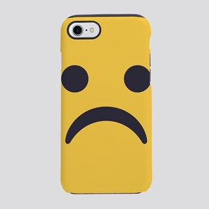 Frowning Emoji Face iPhone 7 Tough Case