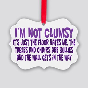 Not Clumsy Ornament