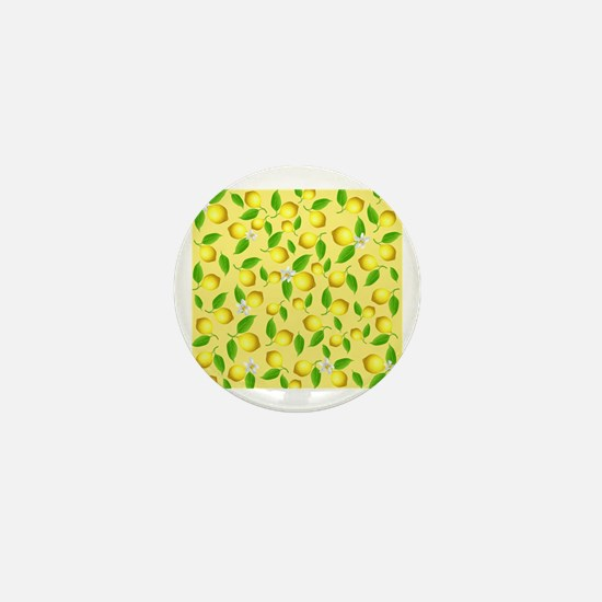 Unique Lemon Mini Button