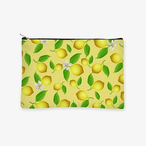 Lemon pattern Makeup Pouch
