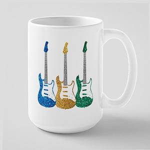 Three Electric Guitars Mug