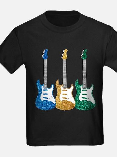 Three Electric Guitars T-Shirt