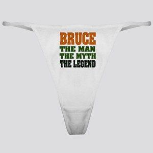 Bruce The Legend Classic Thong