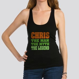 Chris The Legend Racerback Tank Top