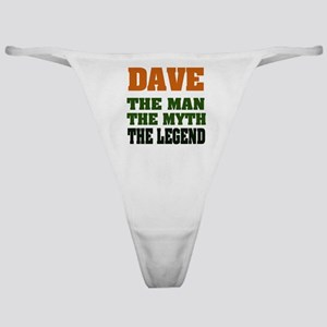 Dave The Legend Classic Thong