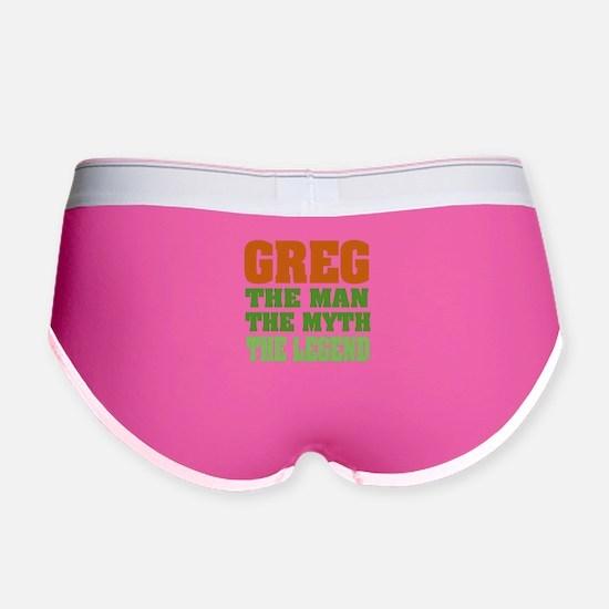 Greg The Legend Women's Boy Brief
