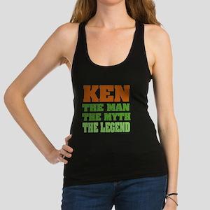 Ken The Legend Racerback Tank Top