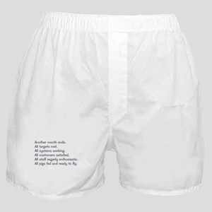 All Targets Met Boxer Shorts