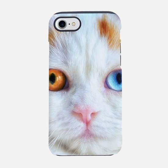 Odd-Eyed White Persian Cat iPhone 7 Tough Case