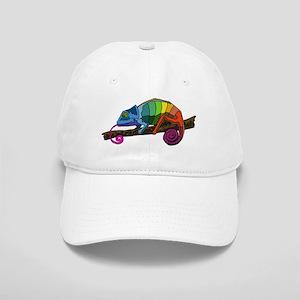 Rainbow Chameleon Cap