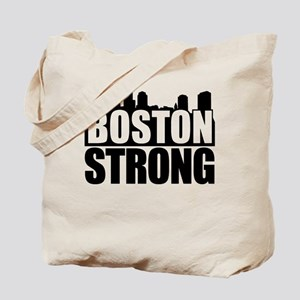 Boston Strong Black Tote Bag