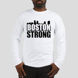 Boston Strong Black Long Sleeve T-Shirt