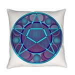 Pentacle Phases 2017 Everyday Pillow