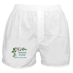 Gardening adds Years Boxer Shorts