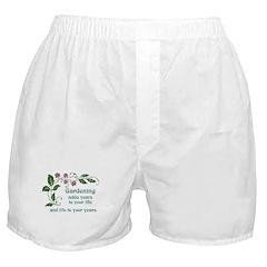 Gardening adds Years Boxer Shorts