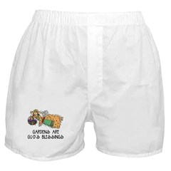 Gardens are Gods Blessing Boxer Shorts