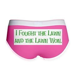 I Fought the Lawn Women's Boy Brief