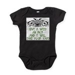 Give a Weed an Inch Baby Bodysuit