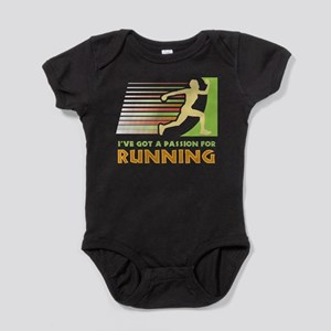 Passion for Running Baby Bodysuit