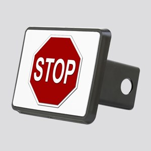 Sign - Stop Rectangular Hitch Cover