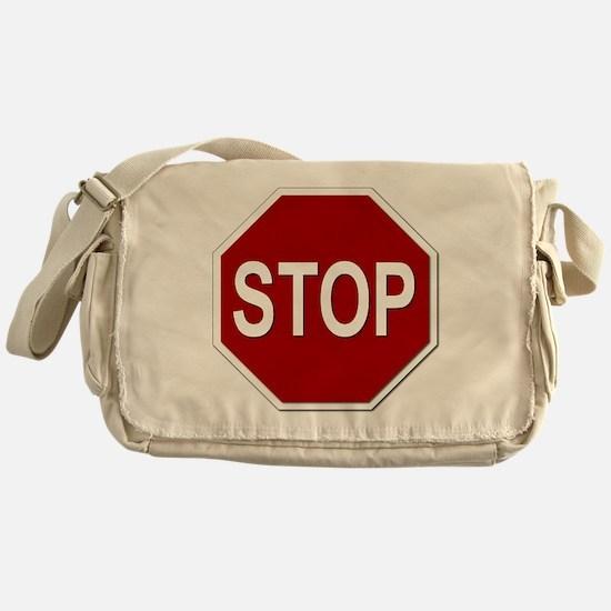 Sign - Stop Messenger Bag