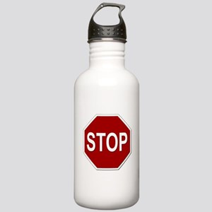 Sign - Stop Stainless Water Bottle 1.0L