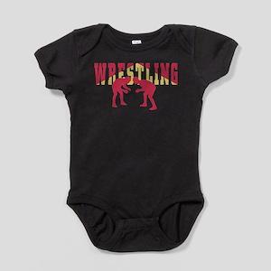 Wrestling 2 Baby Bodysuit