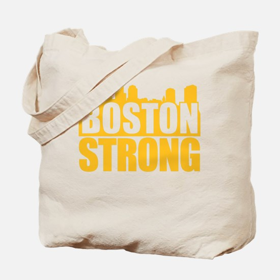 Boston Strong Gold Tote Bag