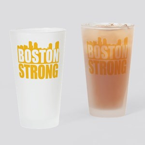 Boston Strong Gold Drinking Glass