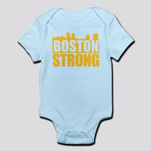 Boston Strong Gold Body Suit