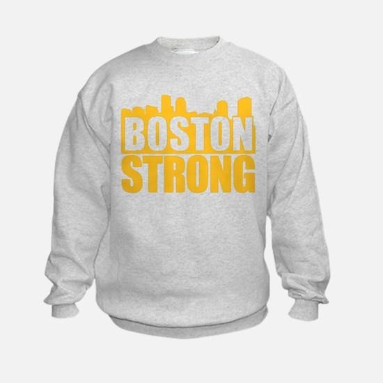 Boston Strong Gold Sweatshirt