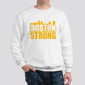 Boston Strong Gold Sweatshirt