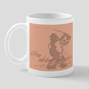 Flyfisherman Sketch Mug