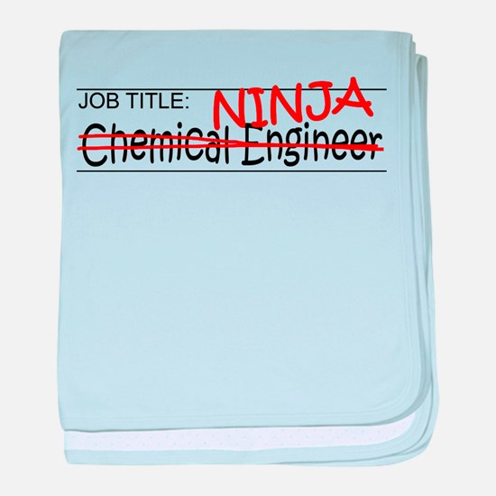 Job Ninja Chem Eng baby blanket