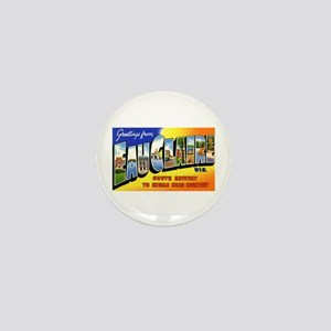 Eau Claire Wisconsin Greetings Mini Button