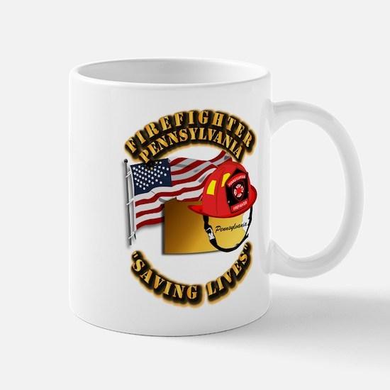 Fire - Firefighter - PA Mug