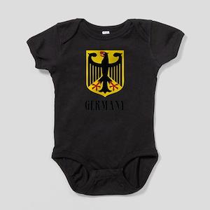 German Coat of Arms Baby Bodysuit
