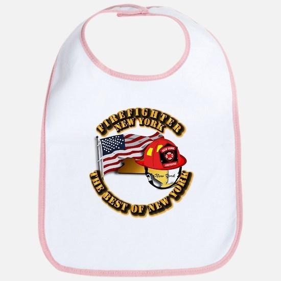 Fire - Firefighter - New York Bib