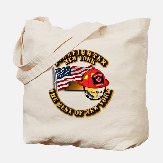 Fire - Firefighter - New York Tote Bag