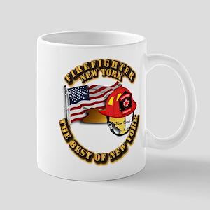 Fire - Firefighter - New York Mug