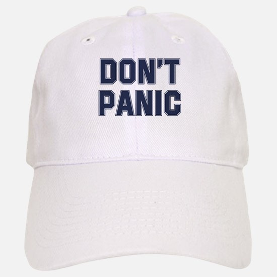 Dont Panic Baseball Baseball Cap