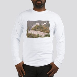 Climbed Great Wall Photo - Long Sleeve T-Shirt
