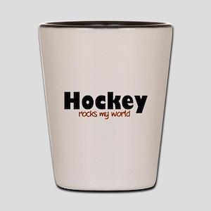 'Hockey' Shot Glass