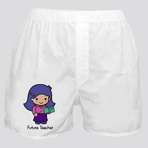 Future Teacher - girl Boxer Shorts