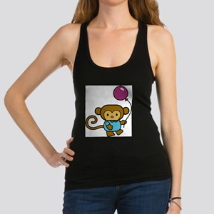 Bobo Monkey Racerback Tank Top