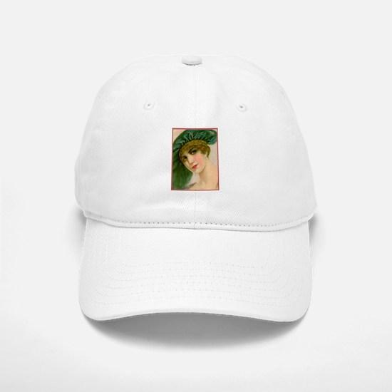 Flapper - Greta Baseball Baseball Cap