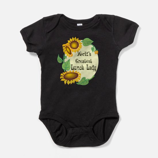 Worlds Greatest Lunch Lady Baby Bodysuit