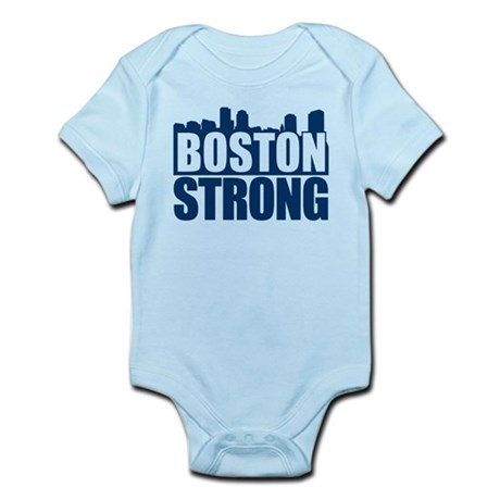 Boston Strong Blue Body Suit